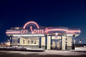 City Diner exterior