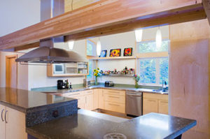 Fox residence kitchen