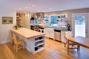 Fairbairn Lebo residence kitchen