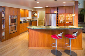 Machello residence kitchen