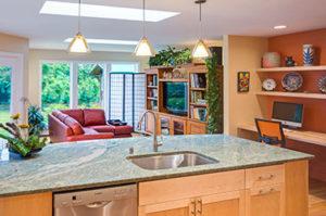 Rosco residence kitchen