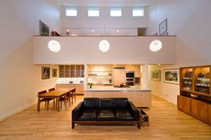 Smyth residence living room